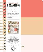 Martha Stewart's Organizing 2021 Monthly/Weekly Planner Calendar