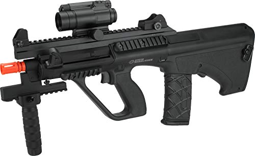 Evike ASG Licensed Steyr AUG A3 XS Commando Airsoft AEG Rifle (Color: Black)