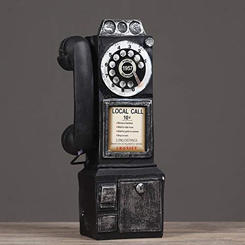 Leoflute Bar Style Home Dekorationen Retro-Vintage Und Altes Kunsthandwerk Wandtelefon A