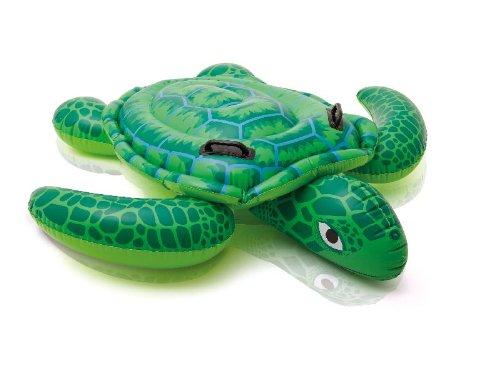 Intex aufblasbares Reittier Schildkröte 150x127cm für Pool Planschbecken