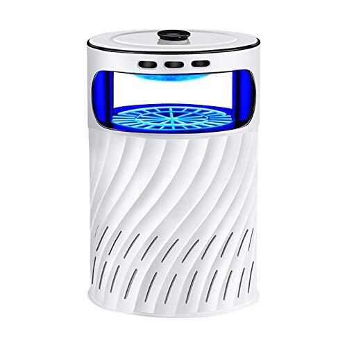 Lampada antizanzare silenziosa a 360° senza radiazioni Zapper, luce UV LED trappola per insetti portatile per attrazione elettronica per interni ed esterni cucina soggiorno camera dei bambini