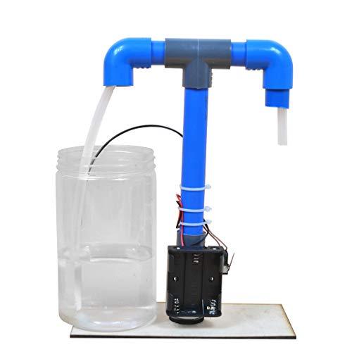 KJ-KUIJHFF DIY Schule Experiment Automatischer Wasserspender Manuelles Modell Wissenschaft Bildung Spielzeug