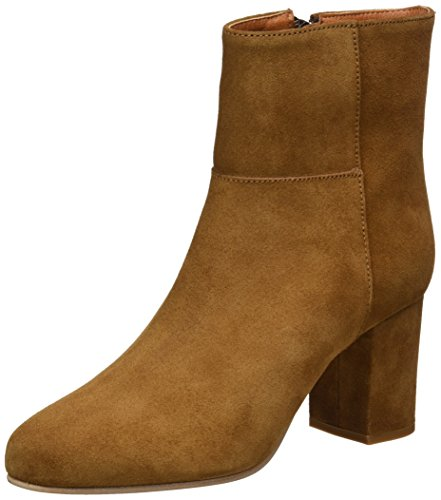 Buffalo London Damen ES 30985 Suede Stiefel, Braun (Camel 87), 39 EU