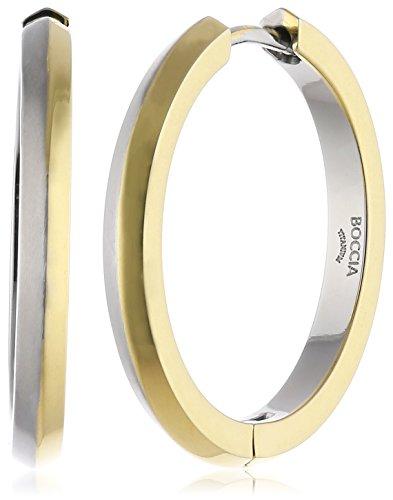 Boccia Damen-Creolen Titan 25 mm 0574-02