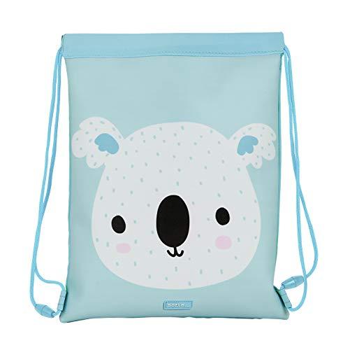 safta 612069855 Saco Plano Junior Koala, Color Azul