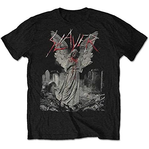 Slayer スレイヤー Tシャツ 半袖 メンズ レディース 夏服 コットン T shirt Tee 丸襟 通気性 快適 綿製 人気 おしゃれ ファッション 男女兼用