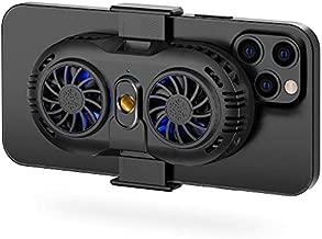SakuraClub Semi-Conductor Phone Cooler, Cellphone Cooling Fan with Dual Cooling Chip, Cooling Case for Mobile Gaming, Car Holder, TikTok Live Streaming