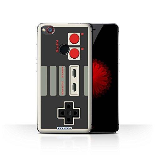 Hülle Für ZTE Nubia Z11 Mini Spielkonsolen Klassisches Nintendo Design Transparent Ultra Dünn Klar Hart Schutz Handyhülle Case
