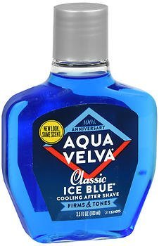 Aqua Velva Cooling After Shave Classic Ice Blue 3.5 Cash special price - oz o free shipping Pack