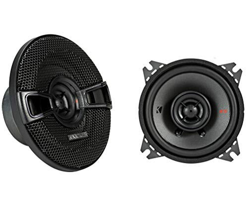 Kicker KSC404 KSC40 4' Coax Speakers with .5' tweeters 4-Ohm