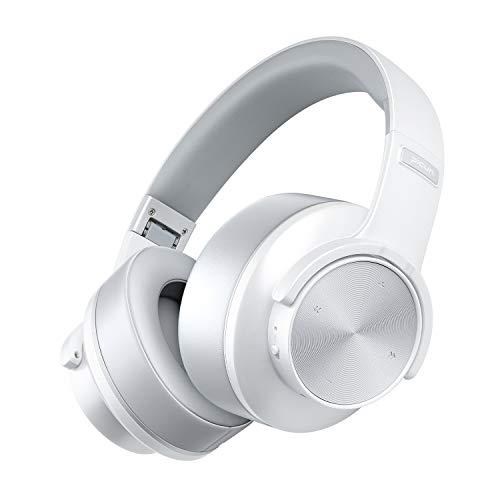 ヘッドホン, TYUW Bluetooth 5.0 オーバーイヤーヘッドホン ワイヤレスノイズキャンセリングヘッドホン 6Dステレオ 50M大きい単位 折りたたみ式 音楽 通話 電話 在宅勤務 ブルートゥース ヘッドフォン 1000mAh大容量バッテリー