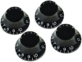 Gibson Top Hat Knobs - 4 Pack, Black