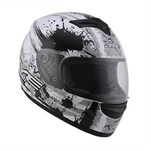 Motorradhelm Profi Helm Mountainbike Racing Motocross Fahrradhelm, 3_XL
