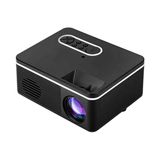 Bestlife S361 Short Throw Projector Physical Resolution 320x240 AV/USB/TF/HDMI/5V-2A Portable LCD LED Beam Projector for 4:3 Screen 400-600 Lumens Mini HD Projector for Indoor/Outdoor