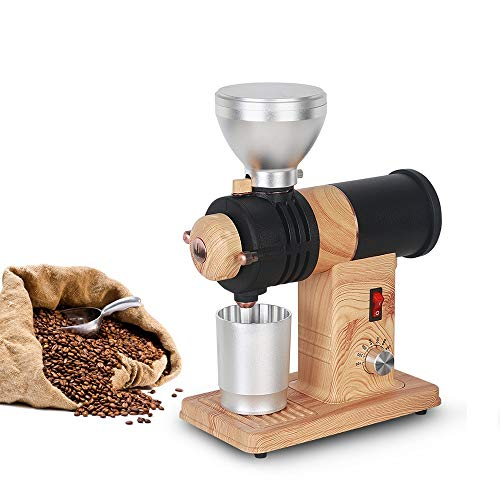 Best Review Of Electric Coffee Grinder Stainless Steel American Coffee Beans Grinding Machine Adjust...