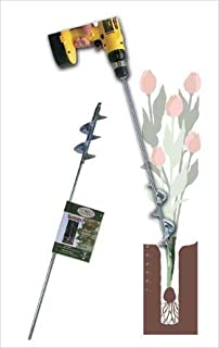 Heavy Duty Bulb and Bedding Plant Auger 28 In. Long by 2.75 In. Diam.