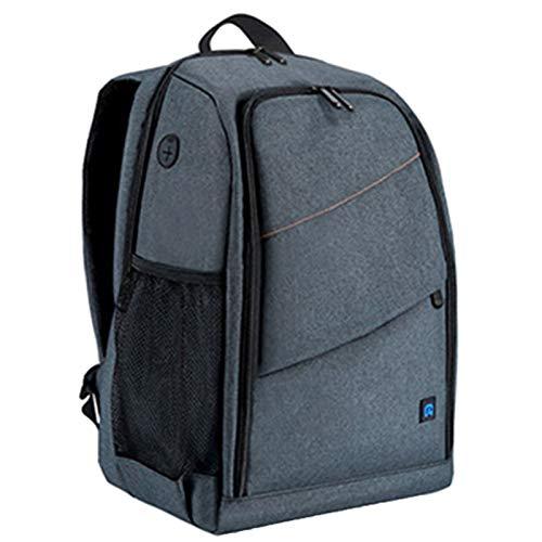 DFGRFN Multi-Function Camera Backpack,Waterproof Dslr Photo Camera Bag,High Capacity Photography Travel Rucksackwith Charging Headphone Jack,Grey