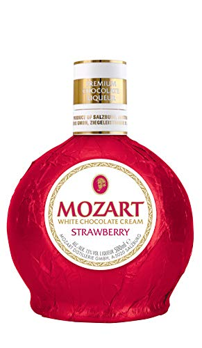 Mozart White Chocolate Cream Strawberry 0,5l