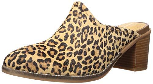 Hush Puppies Hannah Pantolette für Damen, (Leopardenmuster), 36 EU