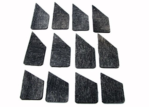 Pool Billiard Table Cushion Facings Set of 12 Piece Choose 3.2 mm or 5.0 mm Thickness (3.2)