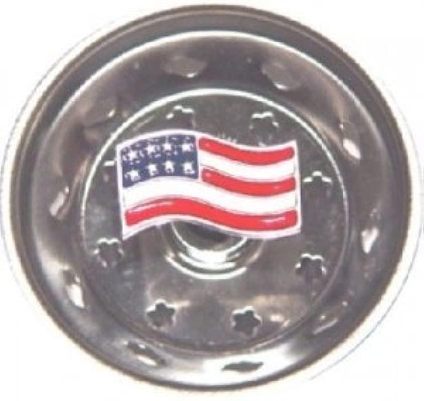 Enamel Kitchen Strainer USA Flag