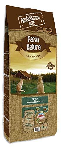 Farm Nature Buey con Verduras 18 Kg 18000 g