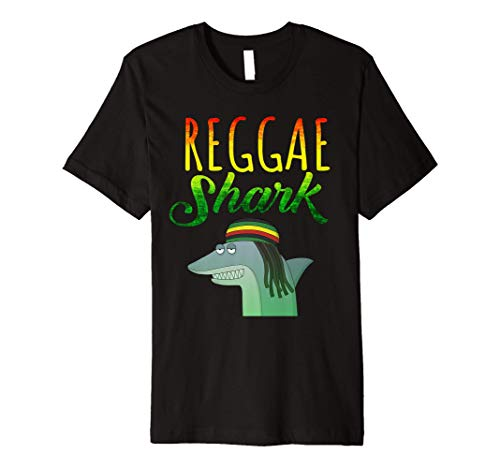 'Reggae Shark' Funny Ocean Animal Shirt