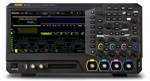 Rigol MSO5104 - Four Channel, 100 MHz Digital/Mixed Signal Oscilloscope