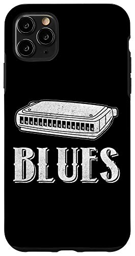 iPhone 11 Pro Max Harmonica Music Lover and Band Member Case