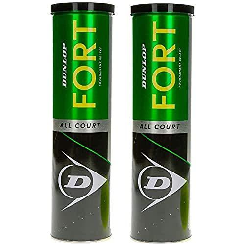 Dunlop 601357 Pelota de Tenis Fort All
