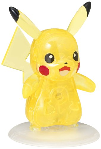 Beverly Pokemon XY Kristall 3D Puzzle–Pikachu (29Stück)