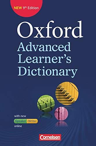 Oxford Advanced Learner's Dictionary - 9th Edition - B2-C2: Wörterbuch (Festeinband) mit Online-Zugangscode - Inklusive Oxford Speaking Tutor und Oxford Writing Tutor