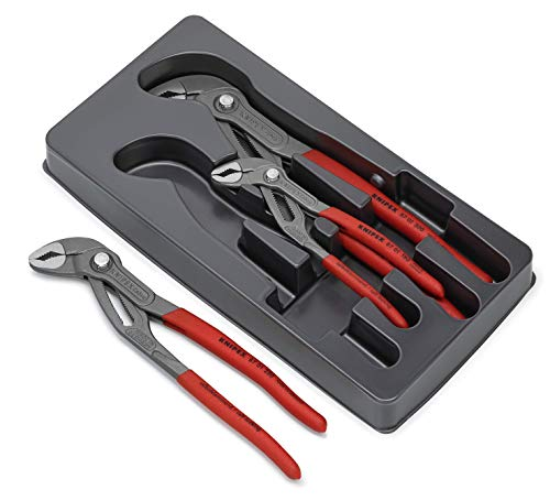 Knipex Cobra-Paket – Profi-Armaturenzangen, 3-teilig, Rohre bis 70 mm - 2