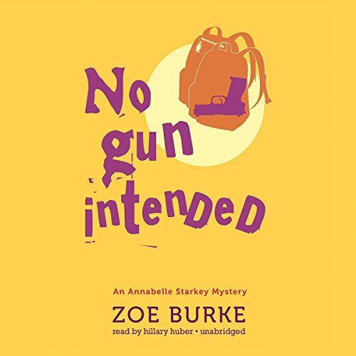 No Gun Intended audiobook cover art