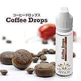 【国産リキッド】電子タバコ リキッド HASLIQ Coffee Drops (コーヒードロップス) 60ml