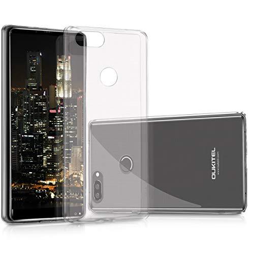 kwmobile Hülle kompatibel mit Oukitel Mix 2 - Silikon Handyhülle transparent - Handy Hülle in Transparent