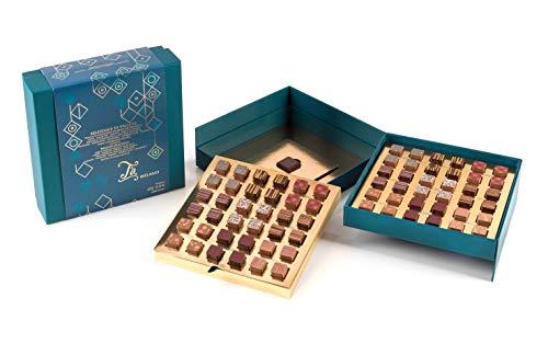 Ta Milano Caja de Bombones praliné artesanales de Diferentes sabores - 630 gr