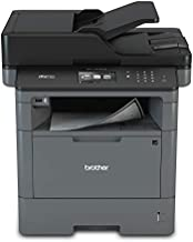 Brother Monochrome Laser Multifunction All-in-One Printer, MFC-L5700DW, Flexible Network Connectivity, Mobile Printing & Scanning, Duplex Printing, Amazon Dash Replenishment Ready, Black