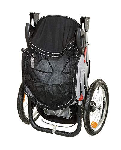 Karlie - Sport Buggy / 31616 - Poussette sport - Noir/gris - 123 x 57 x 105 cm