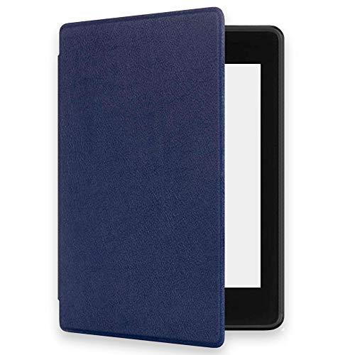 Ociodual Schutzhülle Hülle Schlaf/Wach für New Kindle Paperwhite Wasserfest Tasche mit Auto Sleep/Wake Funktion Dunkelblau