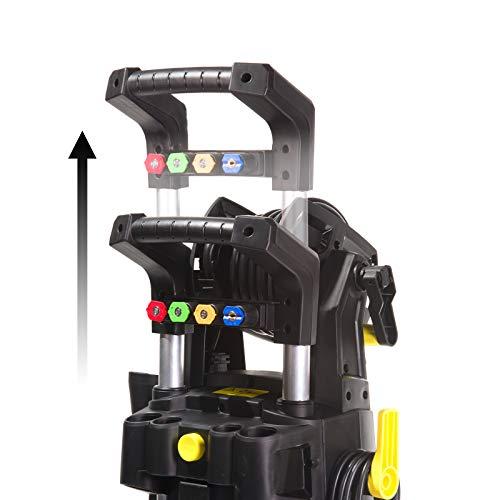 Wilks-USA RX545 Idropulitrice ad Alta Pressione Elettrica per Auto, Casa, Giardino 210 Bar