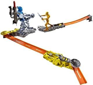 Hot Wheels Trick Tracks Cyborg Blaster Starter Set