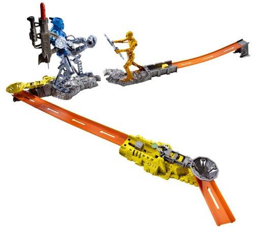 Mattel - R4165 - Hot Wheels - Véhicule Miniature - Cyborg Blaster