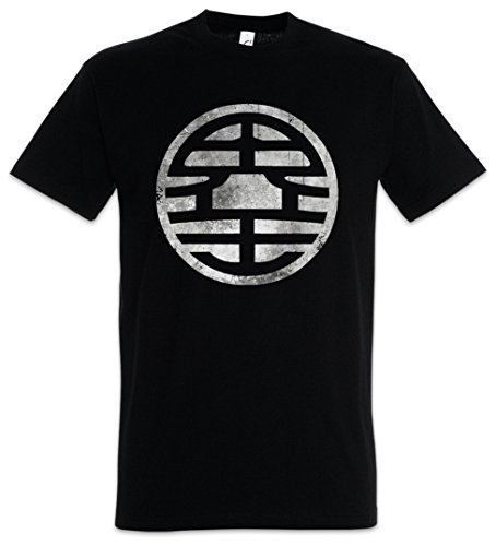 Urban Backwoods Black Son Goku Vintage Camiseta De Hombre T-Shirt Negro Talla 5XL