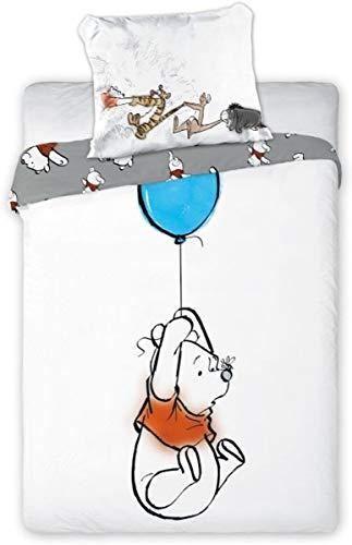 Disney Winnie l'ourson Parure de lit pour bébé 100 x 135 cm