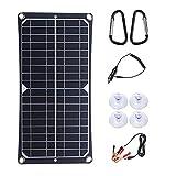 Panel Solar Monocristalino 50w 18v Carga De BateríA Fotovoltaico Flexible Y Eficiente, Utilizado Para Cargar BateríAs Barcos, Caravanas, VehíCulos Recreativos Cualquier Otra AplicacióN Fuera La Red