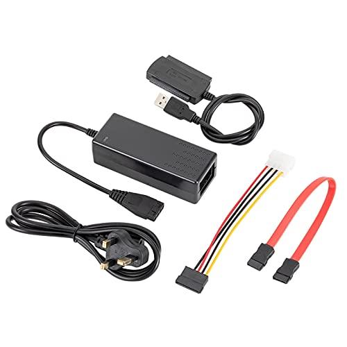 Alta eficiencia Sata/Pata/IDE a USB 2.0 Adaptador Convertidor Cable para Disco Duro Accesorios de Computadora Cable de Disco Duro Externo a USB