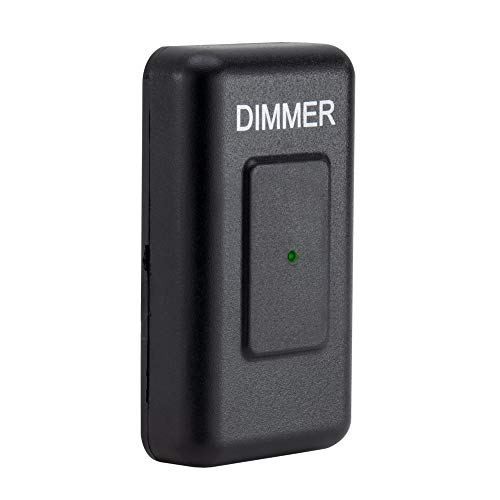RecPro RV Dimmer Switch | RV 12V Touch Dimmer Switch | Compatible with LED, Incandescent, or Halogen Bulbs (Single)