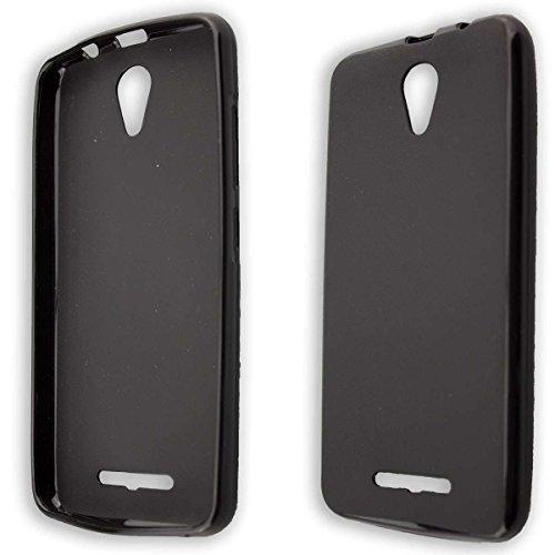 caseroxx TPU-Hülle für Archos 50f Neon, Handy Hülle Tasche (TPU-Hülle in schwarz)