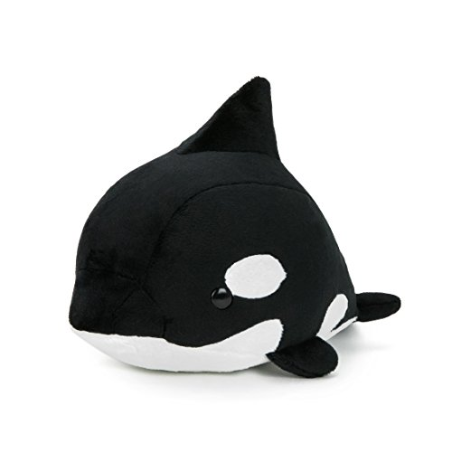 Bellzi Baby Orca Whale Cute Stuffed Animal Plush Toy - Adorable Soft Whale Toy Plushies and Gifts - Perfect Present for Kids, Babies, Toddlers - Orci